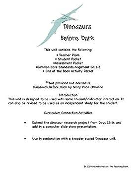 Amazon.com : Magic Tree House #1: Dinosaurs Before Dark Novel ...