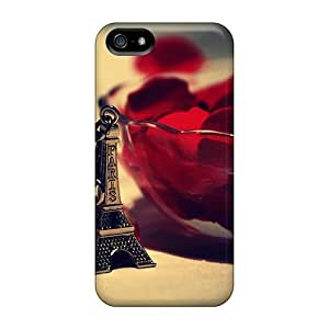 New Style Tpu 5/5s Protective Case Cover/ Iphone Case - Roses In Paris