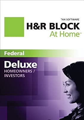 H&R Block At Home 2011 Deluxe Federal