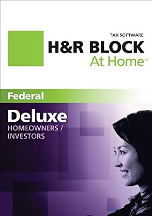 H&R Block At Home Deluxe 2011 Win [Download] (Old Version)