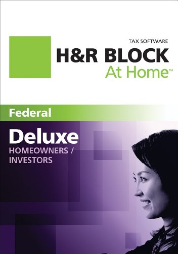 Price comparison product image H&R Block At Home Deluxe 2011 Win [Download]