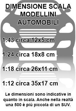ALFA ROMEO GIULIA 2016 RED 1:24 Modellino Burago Die Cast Auto Stradali