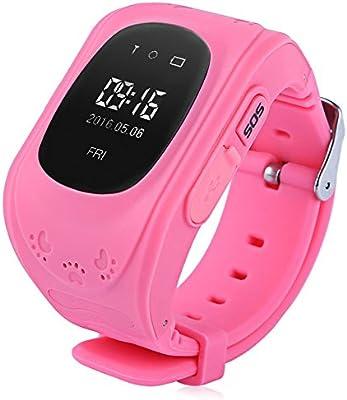 Q50 inteligente de los niños reloj de pulsera para muñeca anti ...