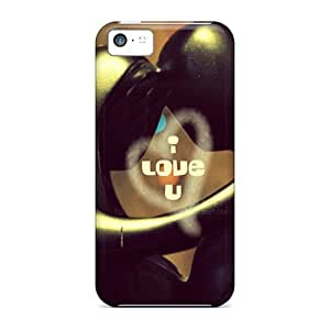 Tough Iphone Mdfivnd4070EwFSD Case Cover/ Case For Iphone 5c(love U)