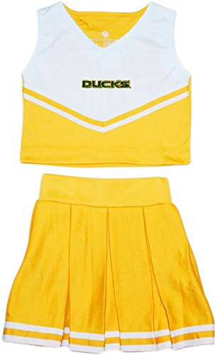 2 Dress Piece Cheerleader (Oregon Ducks 2-Piece Cheerleader Dress)