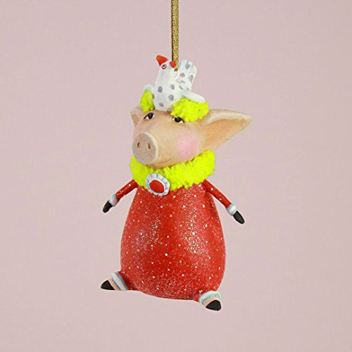 (Patience Brewster Mini Phyllis Pig Figural Ornament 30834)