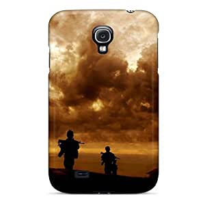 Fashion EkMvrZS6039drgIb Case Cover For Galaxy S4(marines In Afghanistan 2011)