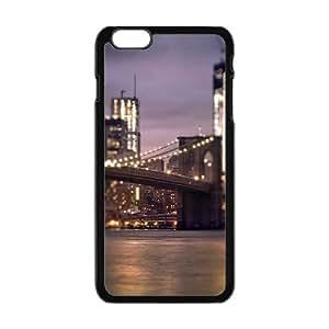 "Magnificent bridge night view Phone Case for iPhone 6 Plus 5.5"" wangjiang maoyi"