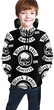 Boys Black Label Society 3D Printed Graphic Sweatshirt Long Sleeve Comfortable Pullover Hoodie