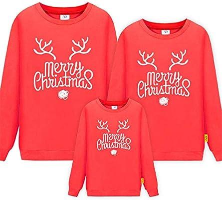 Miminuo Jersey Navidad Mujer Reno,Trajes a Juego con la Familia Invierno Navidad Suéter Navidad Ropa para niños Camisa para niños Polar Fleece Cálido Ropa Familiar-mi_niños 100cm: Amazon.es: Hogar