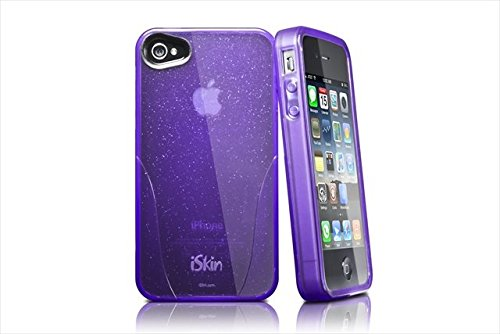 iSkin Claro Glam Case for iPhone 4/4S - Retail Packaging - Black ()