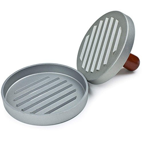 "Zomei Kitchen Tool 4.5"" Aluminum Beef Meat Hamburger Burger Press Patty Maker Mold Ideal for BBQ"
