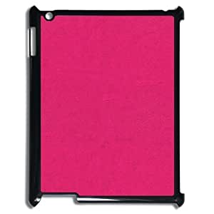 3D [Pink Pattern & Pink Texture] Pink Wall Texture Cases for IPad 2,3,4 2D, IPad 2,3,4 2D Case Hipster Protective Design for Men {Black}