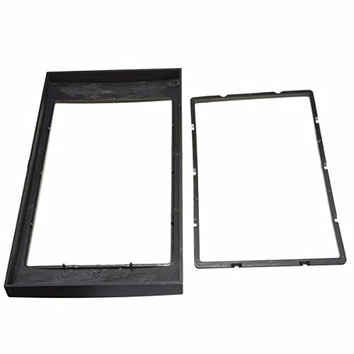 ZHENWOCAI Car Stereo Panel Plate 2DIN Fascia Panel Adapter For 06-on Ford Focus Transit New ()