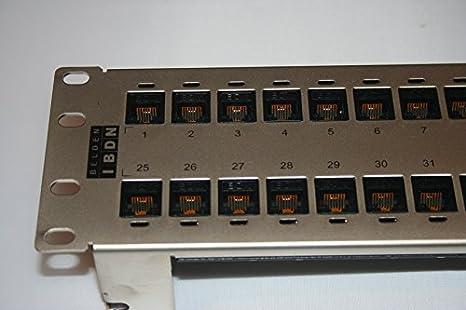 belden cat6 patch panel 48 port