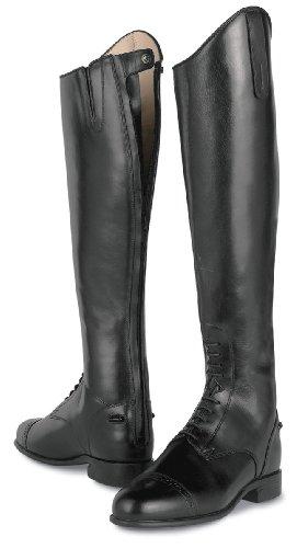 ARIAT Crown Pro Zip Back Field Boot (5.5 WM) Black ()