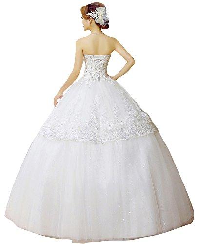 Bianco Emily weiß 34 Kleid Bianco Beauty Damen v4TqdwxYnx