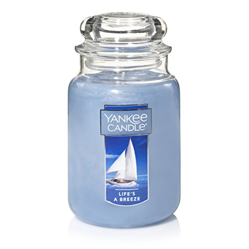 (Yankee Candle Large Jar Candle, Life's a Breeze)