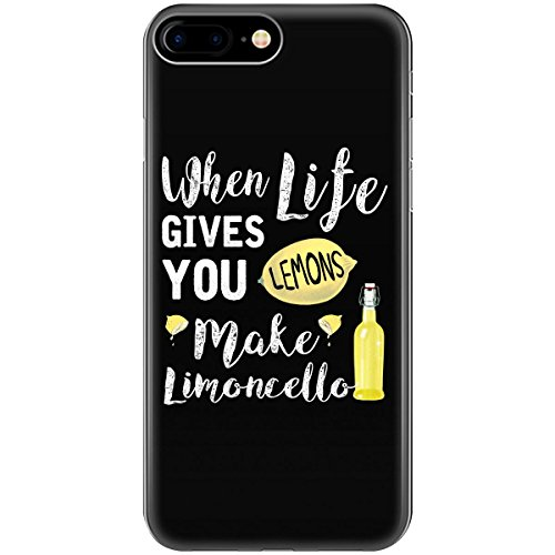 Funny When Life Gives You Lemons Make Limoncello - Phone Case Fits Iphone 6, 6s, 7, 8