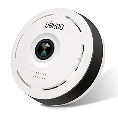 960P IP Camera, Wifi 360 Degree Indoor Security Surveillance Network IR Wireless Wifi Security Camera with IR Night Vision Night Vision/2-way Audio/Motion Detection