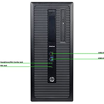 Fastest HP EliteDesk 800 G1 Business Tower Computer PC (Intel Ci5-4570 upto 3.9GHz, 16GB Ram, 1TB HDD + 120GB Brand New SSD, Wireless WIFI, Display Port, ...