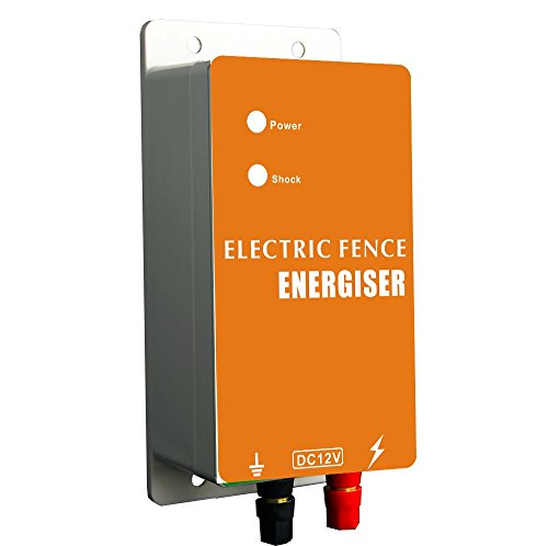 electric fence energiser with 0.5 joules 10kv output powered by DC12V