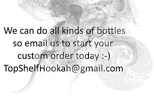 Crown Royal Extra Rare XR Whiskey Liquor Bottle Hookah 1 Hose 750ml Handcrafted