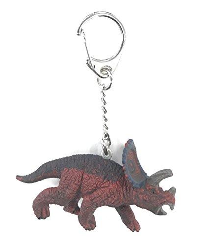Schleich Triceratops Dinosaur Key Chain Figure