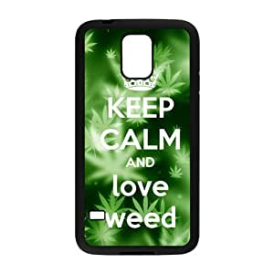 Fresh green design Cell Phone Case for Samsung Galaxy S5