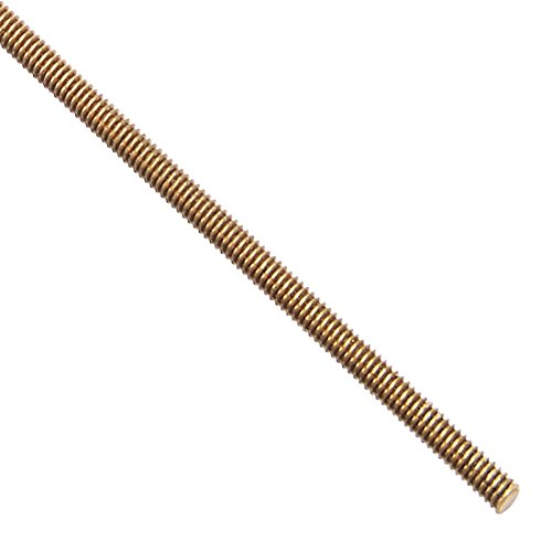 Brass Threaded Rod (uxcell M2 Brass Fully Threaded Rod, Right Hand Threads, 250mm Long)