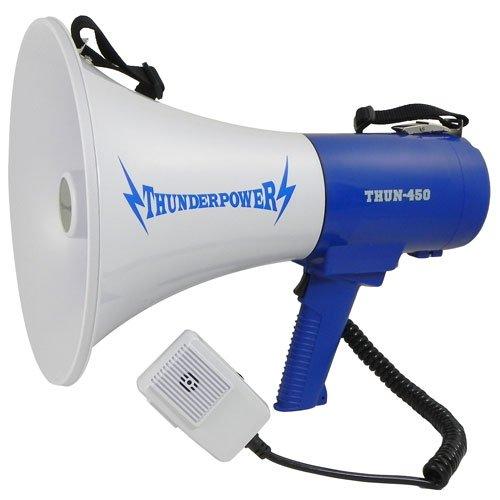 Extra Loud Megaphone - ThunderPower 450 - 35 Watts of Power