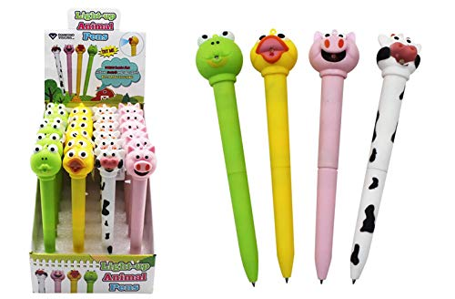 Animal LED Pen w/Sounds, Case of 192