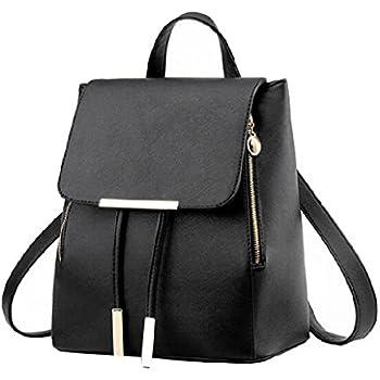 Fashion Shoulder Bag Rucksack PU Leather Women Girls Ladies Backpack Travel  Bag 6955dde479afd