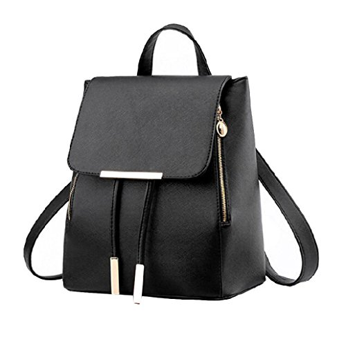 Leather PU Ladies Backpack Women Rucksack Bag Shoulder Fashion Girls Bag Travel w0qnftpInx