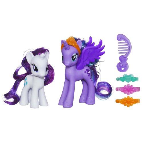 Hasbro My Little Pony Princess Luna and Rarity Figures