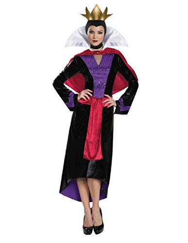Disguise Women's Evil Queen Deluxe Adult Costume, Multi, Medium