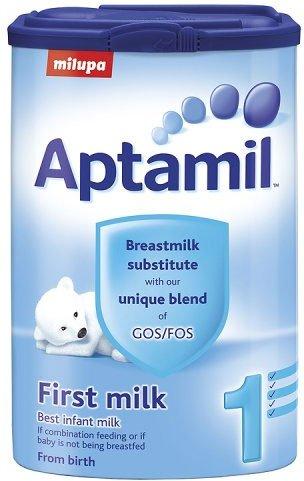 Aptamil First Stage Milk 0-12 Months Powder Tub (6 x 900g)