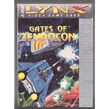 Gates of Zendocon Game for Atari Lynx