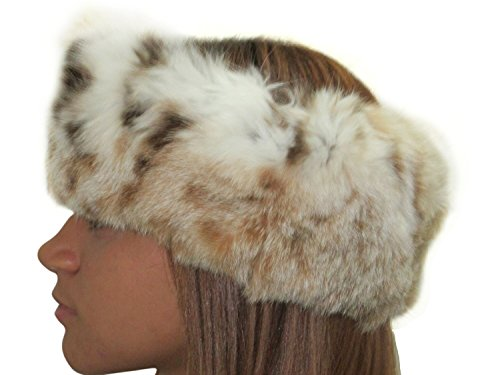 USA Lynx Neck Warmer/Collar & Headband by FursNewYork