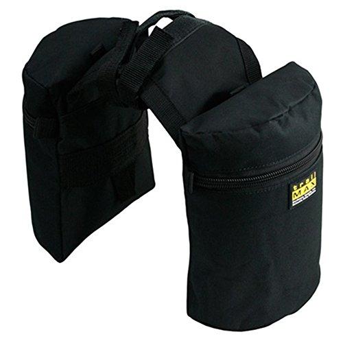 trailMAX Junior Doppel Horntasche Satteltasche Western Packtasche schwarz