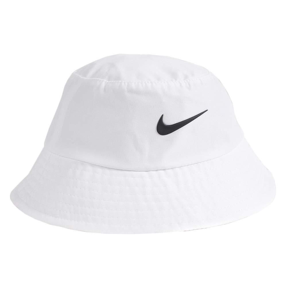Nike Dry Infant Toddler Girls' Bucket Hat (blanc (001) noir blanc, 2-4T)