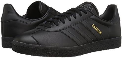 bar nosotros Traducción  adidas Originals Men's Gazelle Sneakers Black Size: 8.5 UK: Amazon.co.uk:  Shoes & Bags