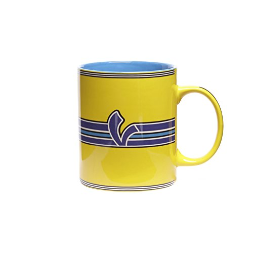 Vespa V-Stripes Mug Yellow ()