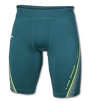 Joma - Malla Corta Olimpia Flash Running Verde para Hombre: Amazon.es: Deportes y aire libre