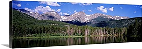 Canvas On Demand Premium Thick-Wrap Canvas Wall Art Print entitled Sprague Lake Rocky Mountain National Park - Colorado Rocky Mountain Natl Park