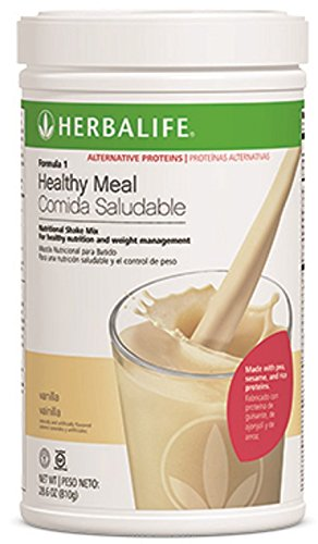 Herbalife Formula 1 shake - Allergen-Free* (Free from Soy, Dairy and Gluten) Vanilla Canister - Free Lactose Shakes