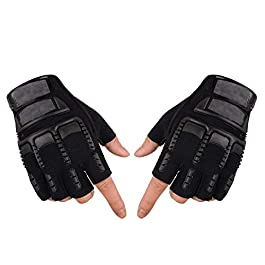 AdroitZ Non Slip Half Bike Racing Glove
