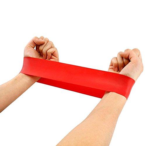 Gilroy Yoga Banda de tensión Gimnasio en casa de fitness ejercicios de resistencia Entrenamiento de la Fuerza, 500*50*0.9mm