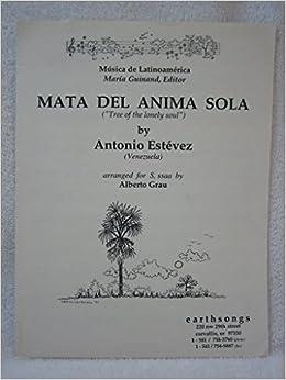 MATA DEL ANIMA SOLA PARTITURA PDF DOWNLOAD