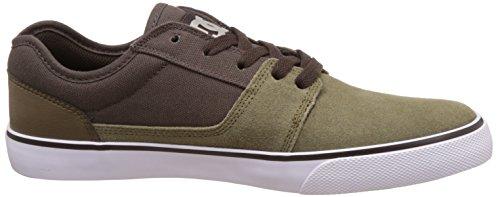 DC Shoes Tonik - Zapatillas para niños Marrón (Military / Dk Choc)